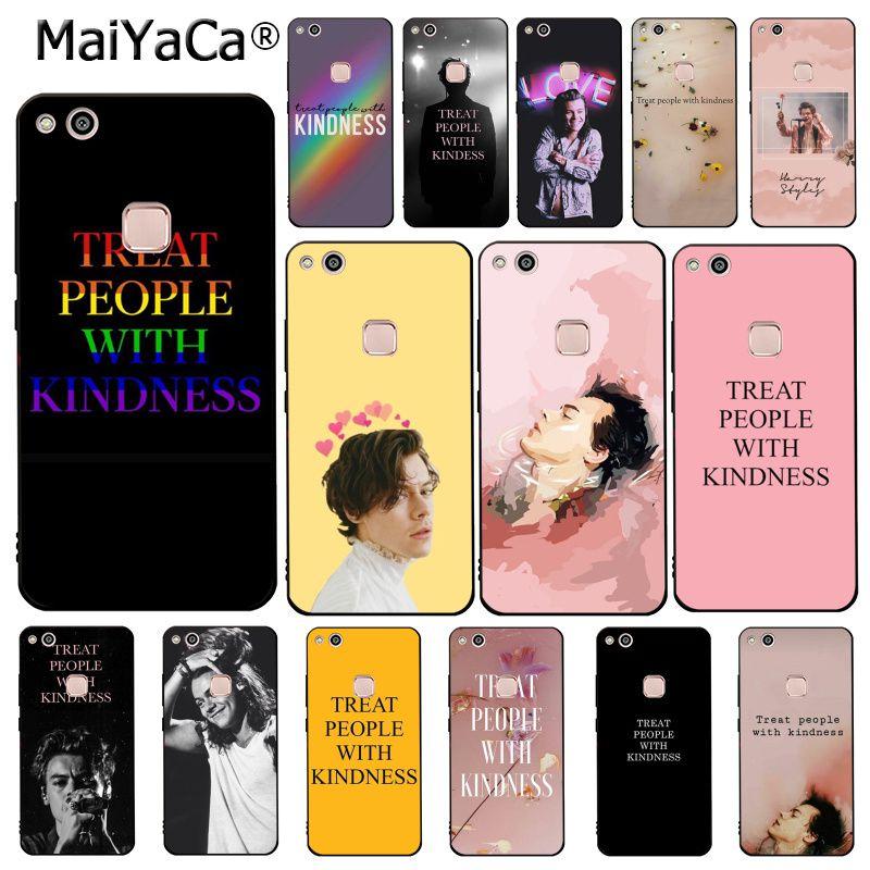 MaiYaCa Harry Styles Treat people with kindness  Phone Case For Huawei Y9 Y7 Y6 II Y5 II Y7 Prime 2018 2019