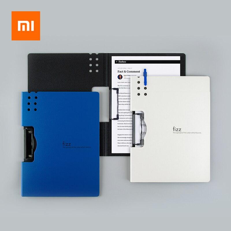 Xiaomi Fizz горизонтальная папка А4 7 цветов матовая текстура папка Портативная подставка портативный лоток для ручки офисный карман для хранения файлов 2 типа