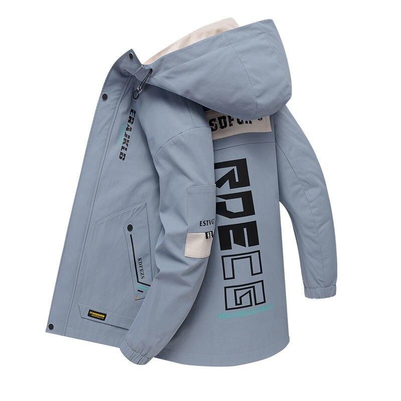 Мужская куртка, новая молодежная куртка, Мужская Студенческая куртка на весну и осень, трендовая повседневная куртка, Мужская осенняя куртк...