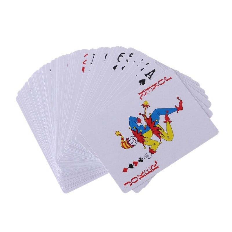1Set secreto marcada baraja de Stripper jugando a las cartas de Poker tarjetas magia juguetes truco de magia para mujer adulto