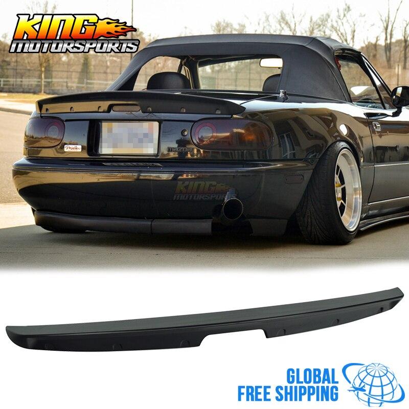 Fit For1 90-97 Mazda Miata MX5 MK1 sin pintar KG, alerón para maletero de ABS, envío gratis a todo el mundo