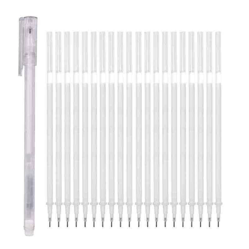 21-pz-set-pennarelli-bianchi-06mm-evidenziatore-impermeabile-pennarello-vernice-schizzo-disegno-pennarelli-arte-disegno-comico-penna-fodera-fine