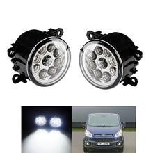 TAIHONGYU 12W LED DRL Fog Daytime Running Driving Lights Fit For Ford Focus Fiesta C-Max Transit MK7 MK8