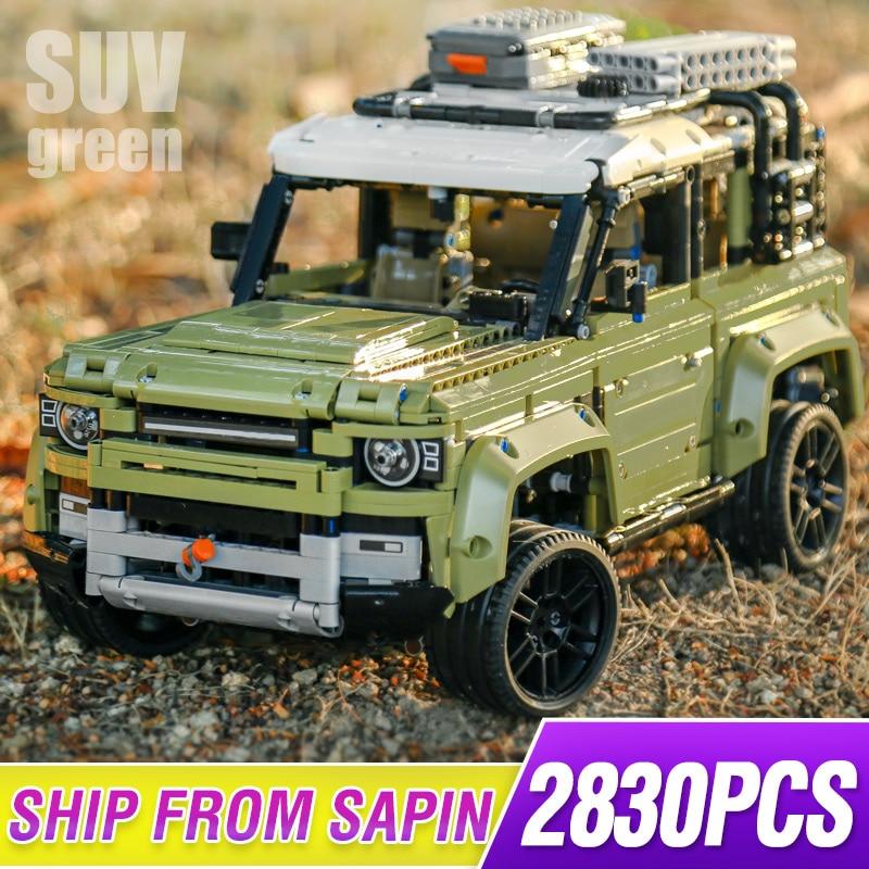 New Guardian Off-road Vehicle Land Car Rover Fit Lepining 42110 Technic Defender Model Building Blocks Bricks Toys Kid Christmas