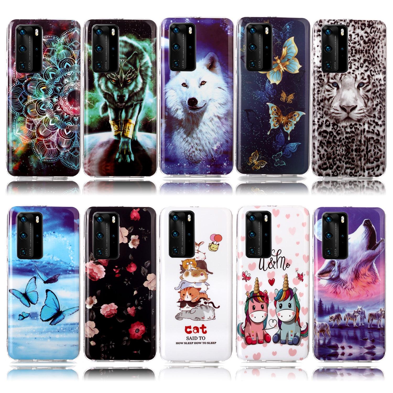 Fundas unicornio para accesorios Samsung S9, carcasa de TPU suave lobo feroz para Samsung Galaxy armor S7 S5 S8 Edge S9 Plus S6