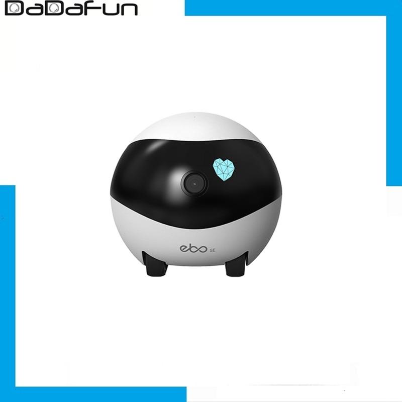 كاميرا المراقبة الأمنيّة للعائلة الروبوت رفيق المنزل الذكي بشبكة واي فاي ايبو SE كاميرا تسجيل الصوت 1080P HD إعادة شحن نفسها مع خاصية الكشف التلق...