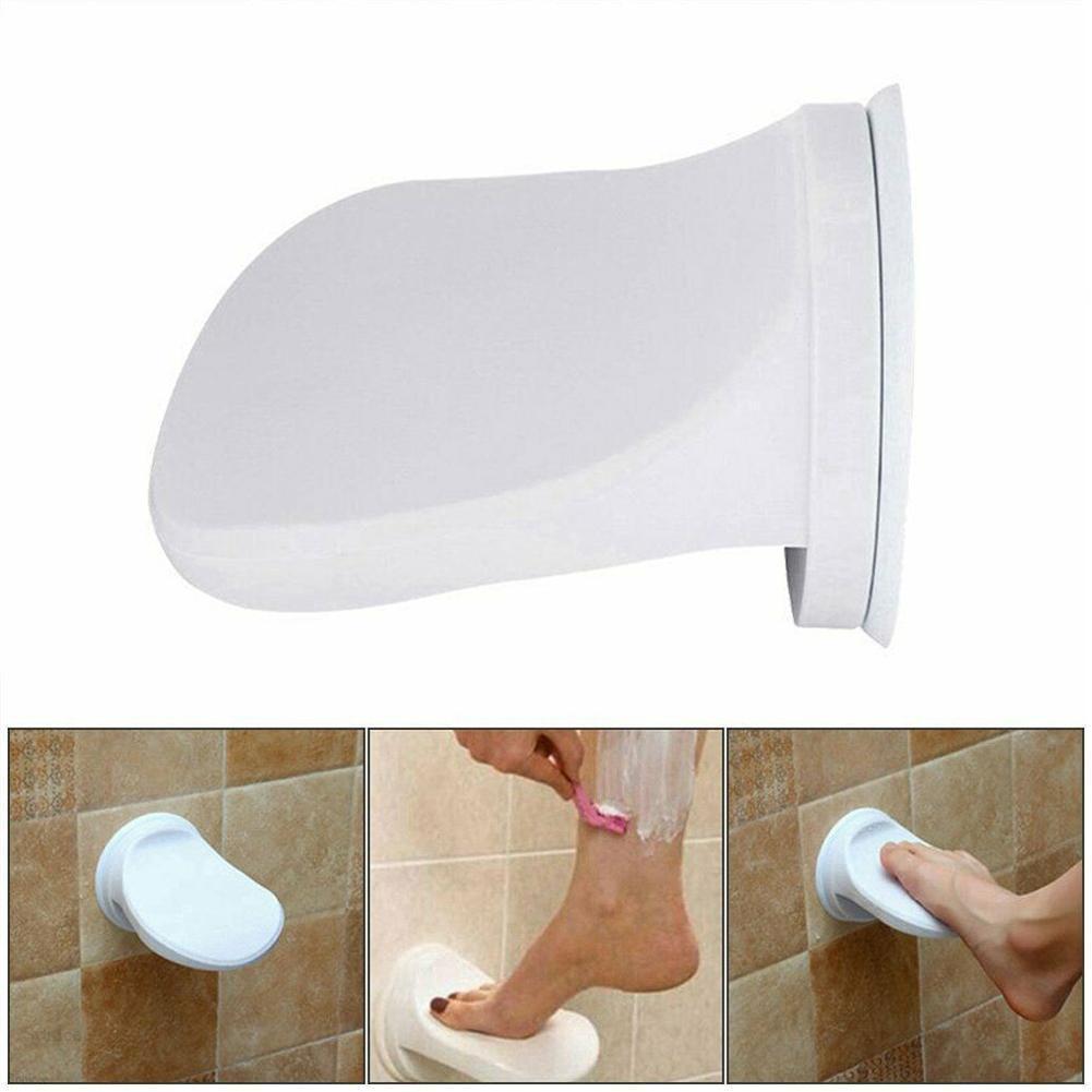 Taza de succión antideslizante para Pedal, patas de lavado, soporte para pata de ducha, reposapiés, agarre de pata de apoyo para baño, afeitado J6Z9