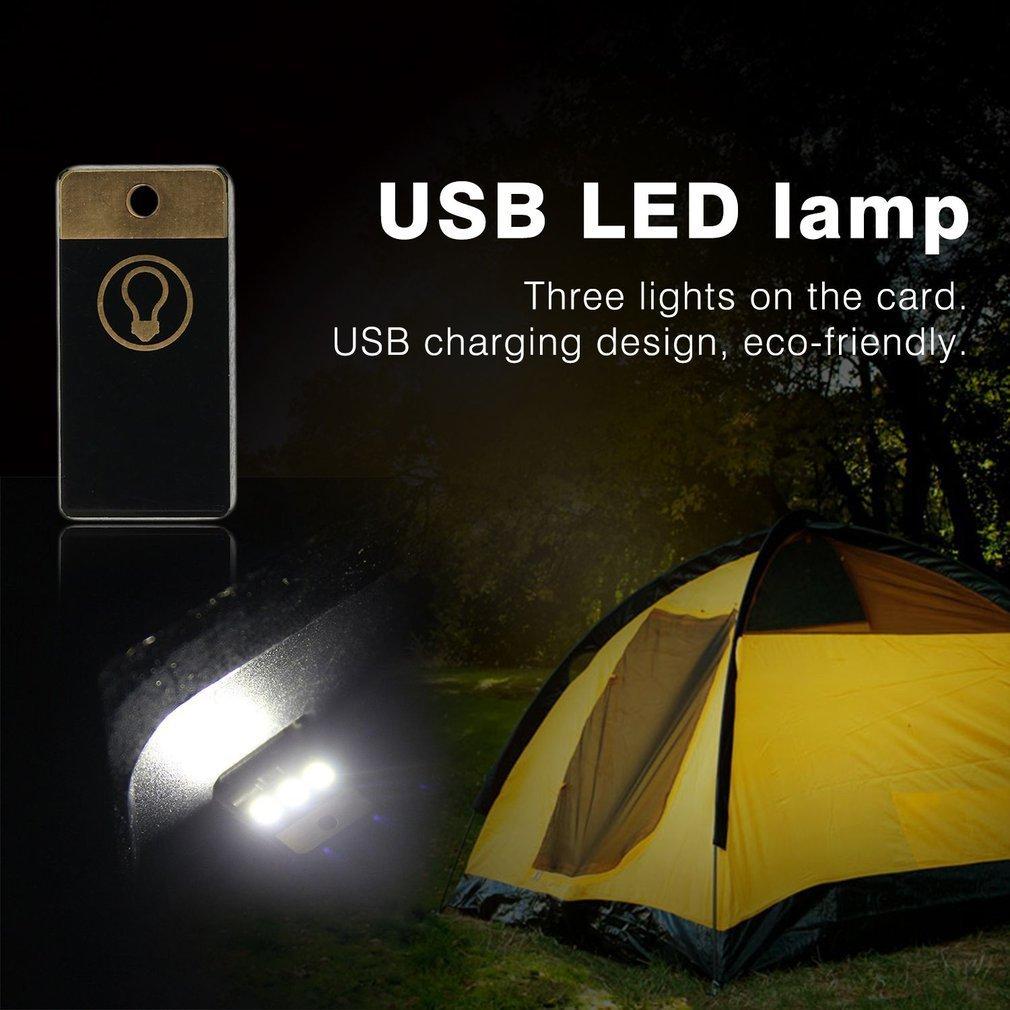 OUTAD 1Pcs Mini USB Light Camping Night Mobile USB LED Lamp White/Warm Light Wholesale Ultra Low Power 2835 Chips Drop Ship