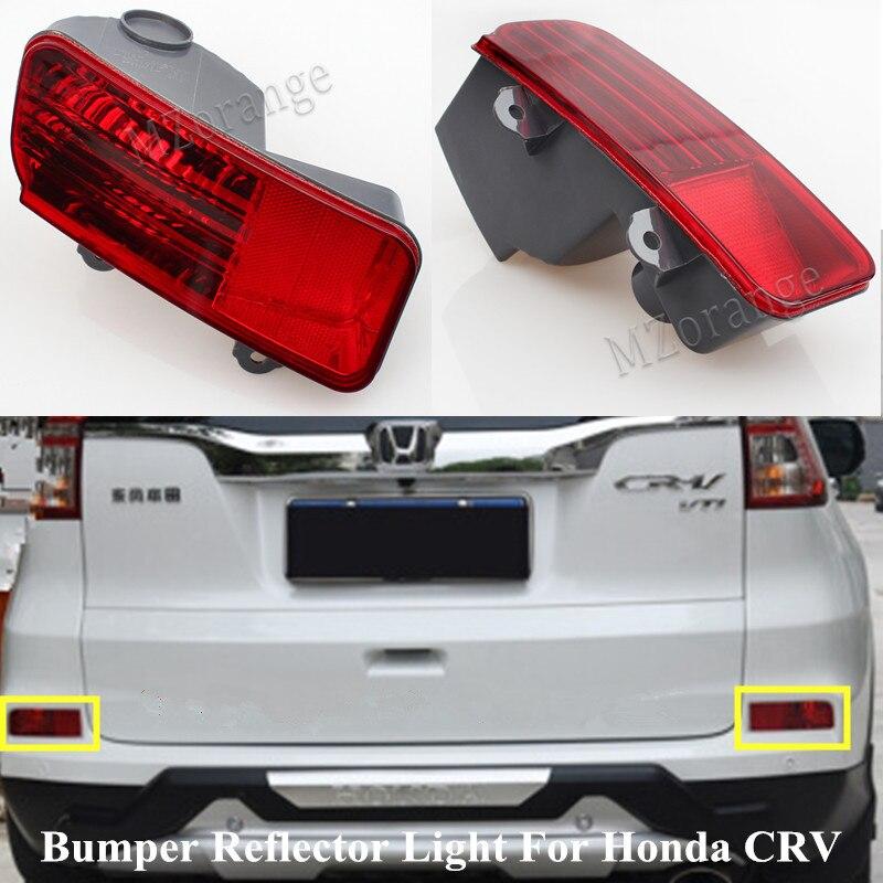 Mzorange alta qualidade vermelho carro traseiro cauda pára refletor luzes para honda crv 2015 2016 luz de freio traseiro nevoeiro lâmpada estilo do carro