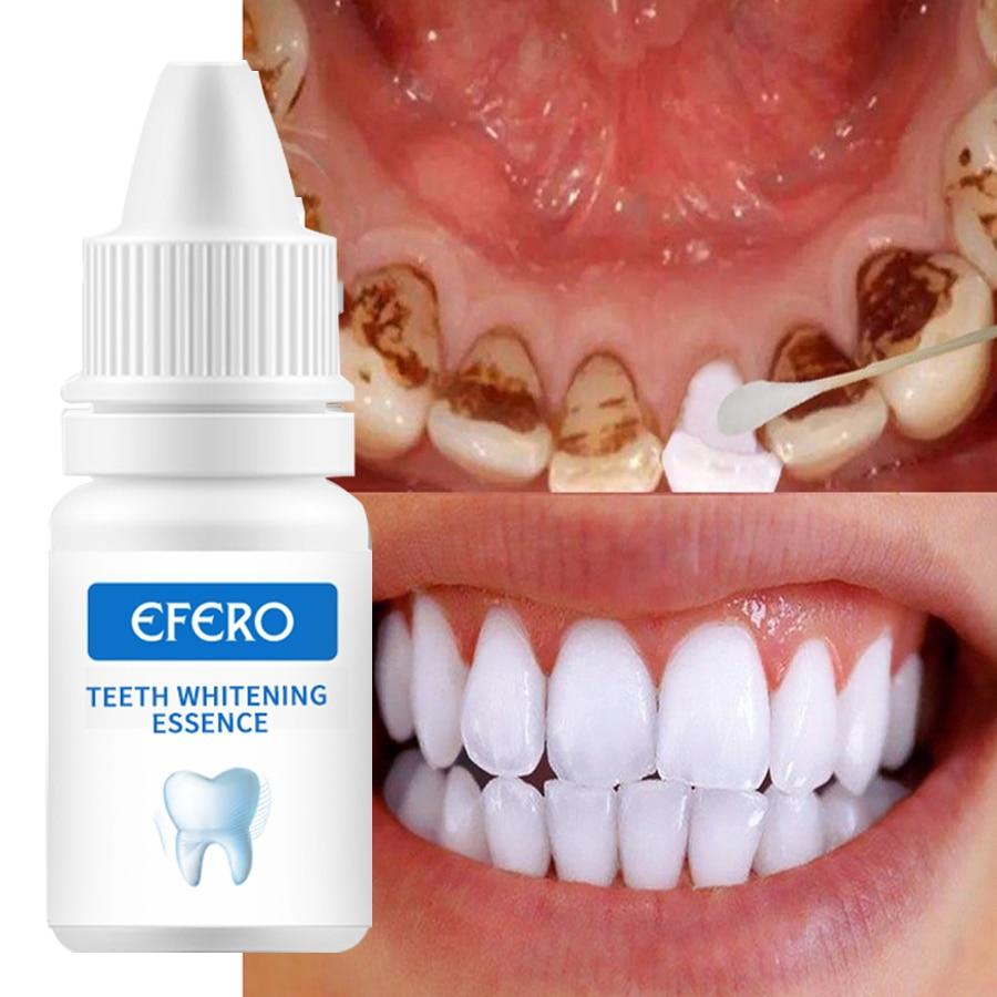 Эссенция EFERO для отбеливания зубов, сыворотка, порошок для гигиены полости рта, удаление пятен от зубного налета, гигиена дыхания и полости р...