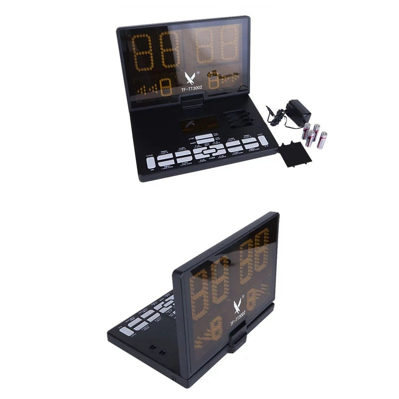 Multifunctional Portable Table Tennis Score Board Sports LCD  Pingpong Instrument match props