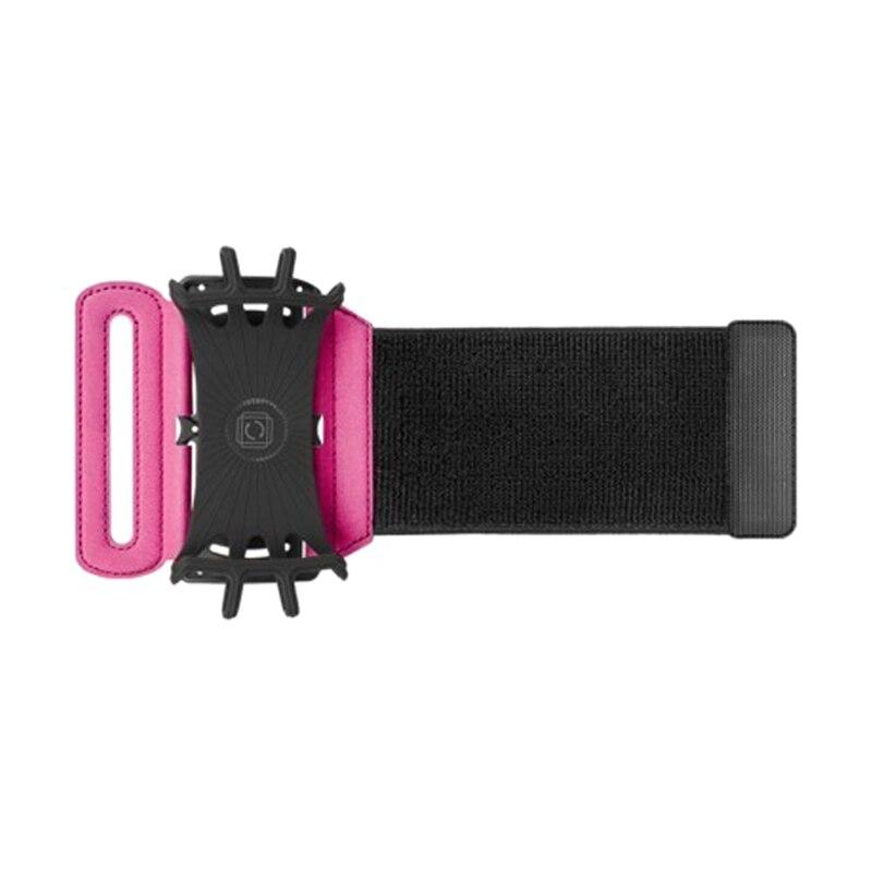 Banda para el brazo para el teléfono celular VUP para entrenamiento, ciclismo, caminar, brazo ajustable para correr con soporte para llave GK8899