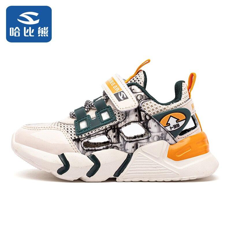 الصيف الأطفال أحذية رياضية حذاء كاجوال أطفال موضة تنس لطيف الرياضة الكرتون الإناث تشغيل الصنادل