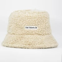 winter women hats teddy velvet warm ear protector fisherman hat accessories vintage lamb velvet cap lovely plush bucket ha