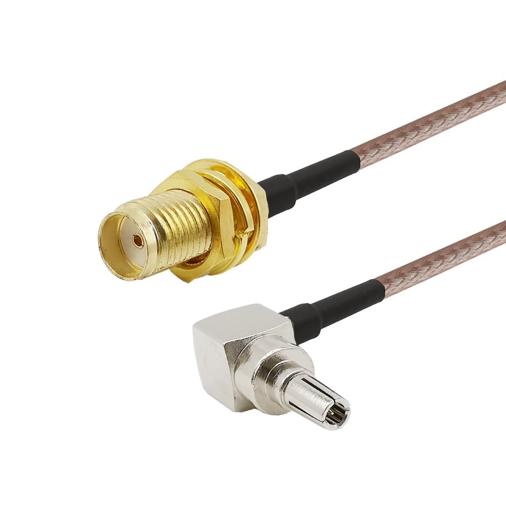 Гнездовой разъем ALLiSHOP 0-6 ГГц SMA Гнездовой разъем К crc9 адаптеру pigtail RG316 кабель для HUAWEI PCI wifi роутер 3G USB модем