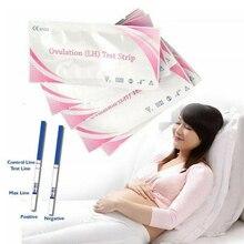 Faroot 20pcs/50pcs Women LH Ovulation Test Paper Strip Urine Predictor Fertility Stick Private