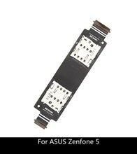 Single / Dual Sim Flex Kabel Voor Asus Zenfone 5 A500CG A501CG T00J A500KL Sd Kaartlezer Slot Vervanging