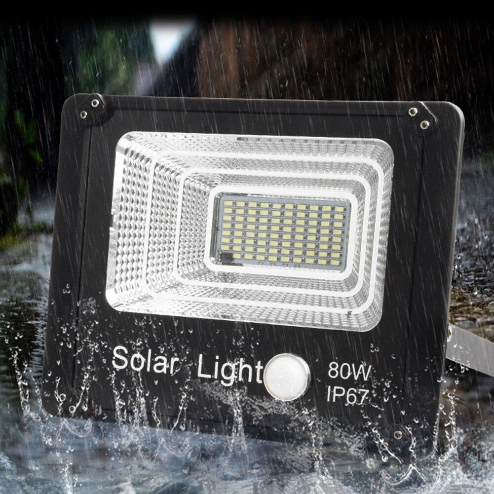 50w jardim ao ar livre luz solar com painel 3 metros cabo jardim projector à prova dwaterproof água lâmpada de parede solar para a iluminação do gramado ao ar livre
