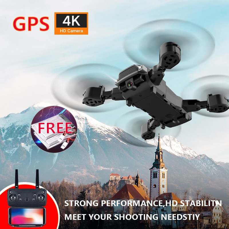 Nuevo avión Eachine Wifi FPV Rc Zangao 4 K cámara de flujo óptico 1080 P Hd cámara doble aérea Video Rc Quadcopter Avión de juguete