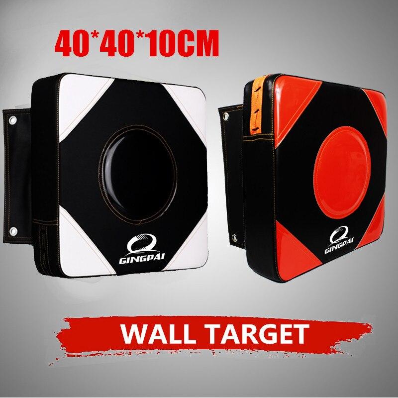 Almohadilla de pared de 40x40x10 cm, bolsa de golpeo para adultos, objetivo de boxeo ficticio, MMA kick square focus STRIKE TKD, Escudo de entrenamiento de artes marciales MMA