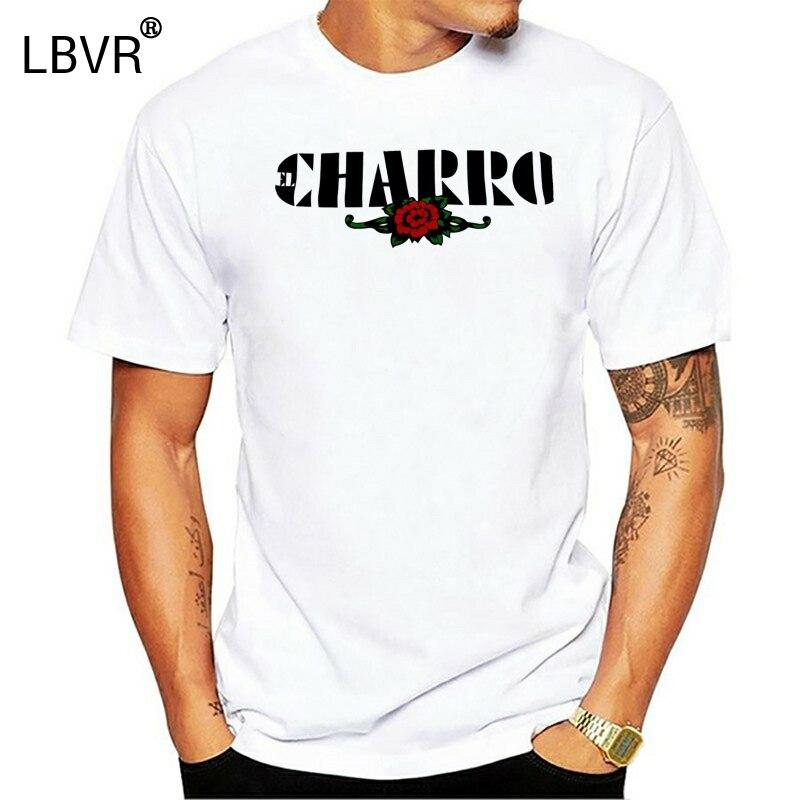 El Charro T-Shirt White (XXL) NEW Cotton Made Italy Vintage Style (Street)