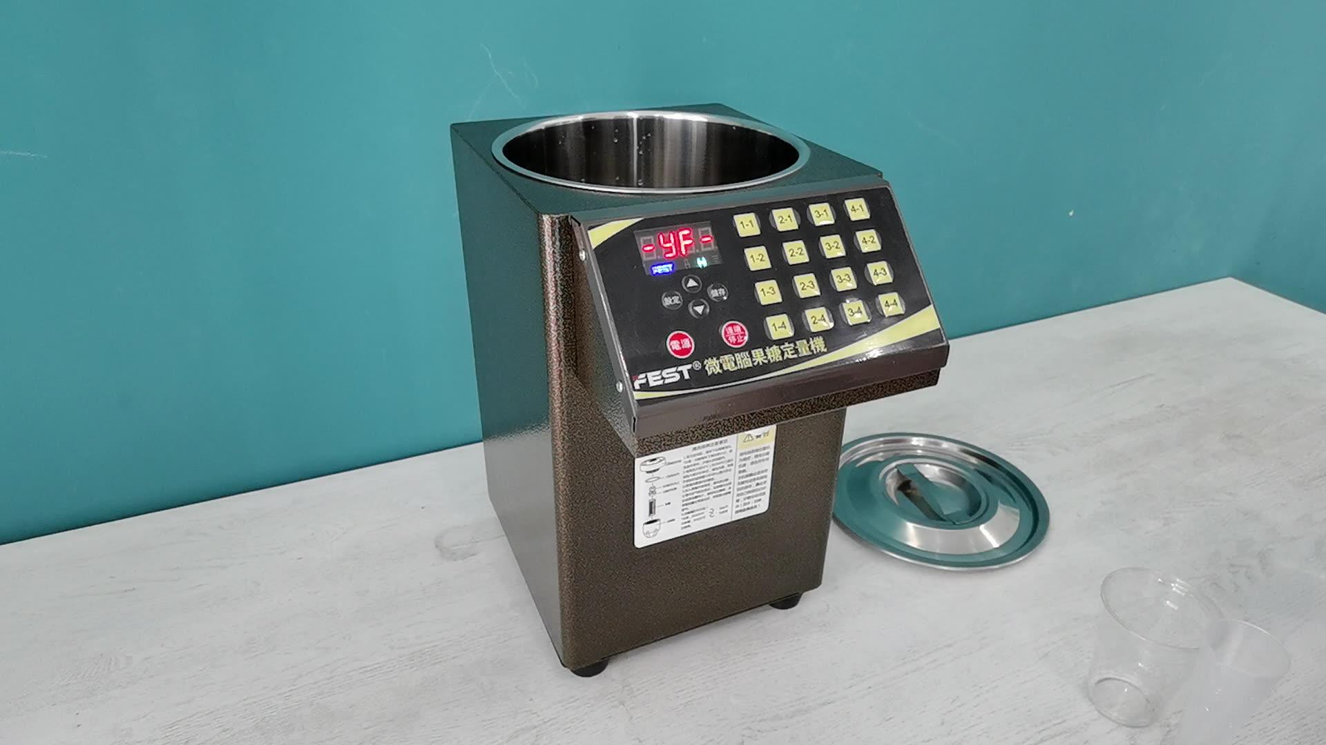 Bubble Tea Fructose Machine Fructose Dispenser For Drinks enlarge