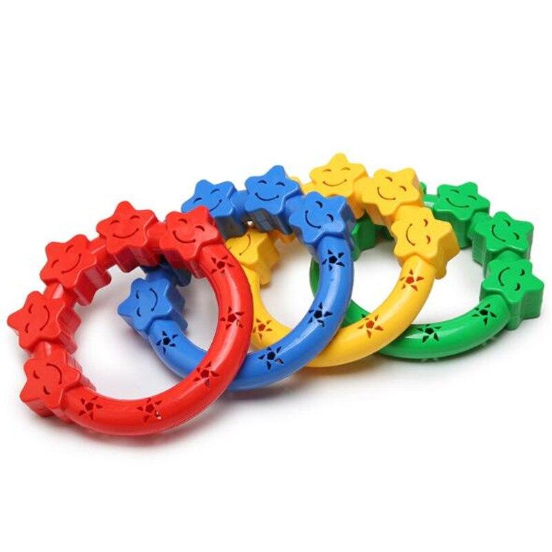 1Pc Bell Rattles Gymnastics/Dance/Game Learning Toys Kindergarten Children's Dumbbells Children's Toys