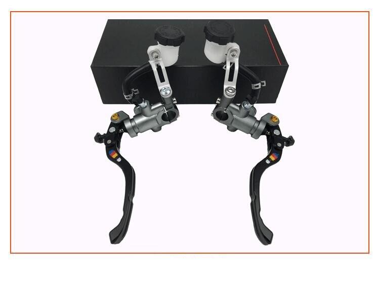 Universal CNC 22mm motocicleta freno motorizado reajuste accesorios eléctricos y fricción general CNC reajuste para Honda Suzuki Kawasaki