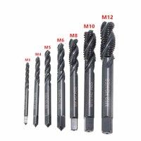 7 шт. набор спиральных Сверл из быстрорежущей стали с метрической резьбой