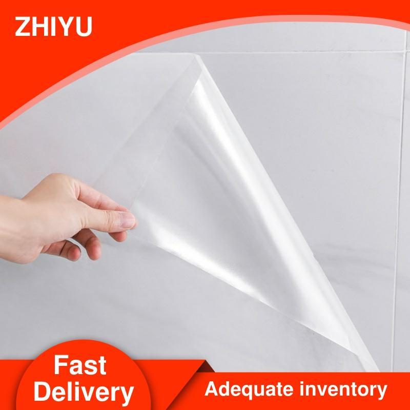 5M/10M Transparent Kitchen Oil-proof Wall Sticker Heat-resistant self adhesive wallpaper Waterproof Anti-oil adhesive tape film