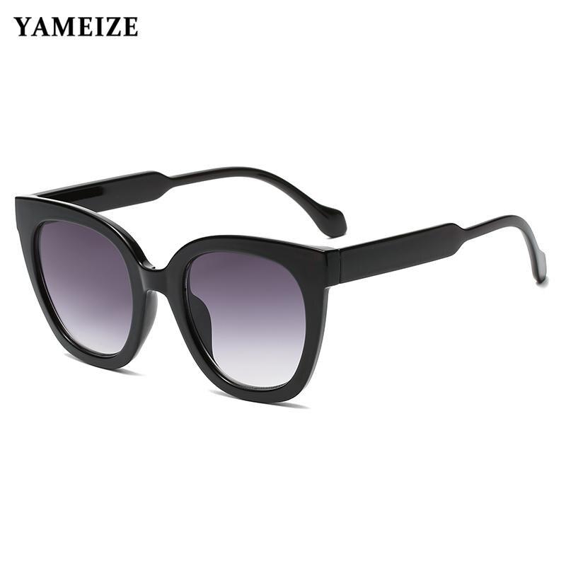 Classic Cat Eye Sunglasses for Women Brand Designer Luxury Sun Glasses Female Vintage Square Summer