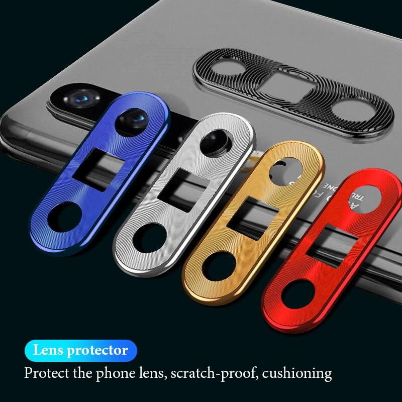 De la lente de la cámara trasera funda para Huawei Honor 20 Pro P20 Lite P30 Pro anillo protector funda para Huawei Mate 20 Pro 20X Nova 4E 4