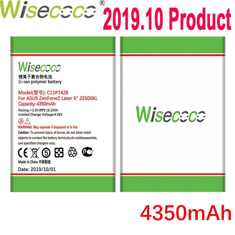 "WISECOCO 4350mAh C11P1428 батарея для ASUS ZenFone2 Laser 5 ""ZE500KL ZE500KG Z00ED телефон последняя продукция + номер отслеживания"