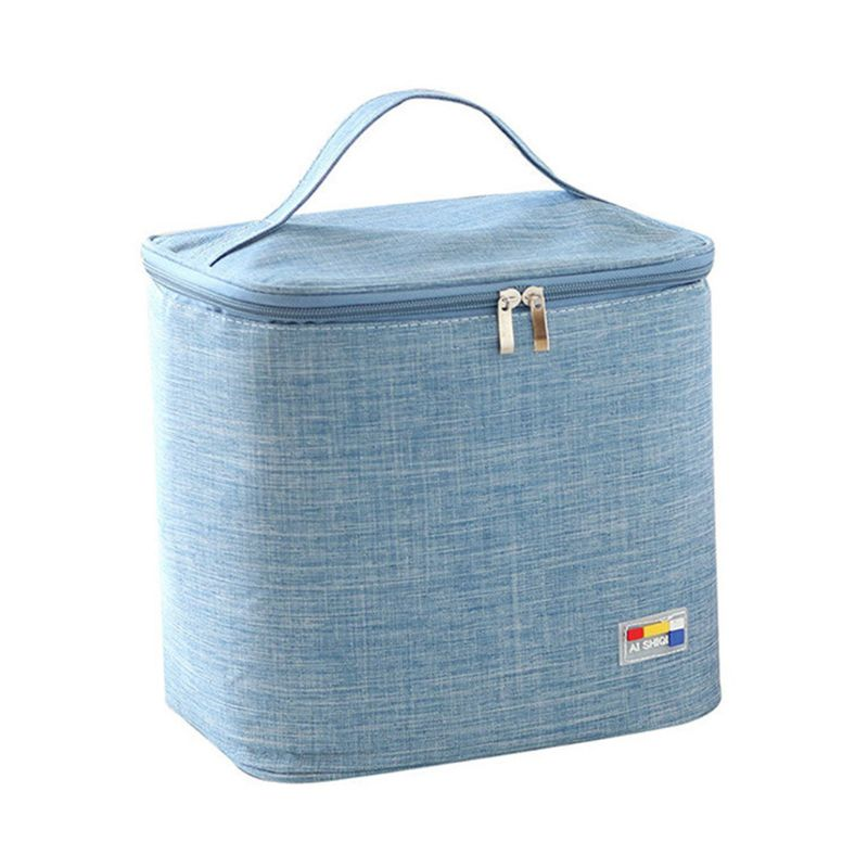 Mummy Breastmilk Cooler Bag Portable Baby Bottles Bag Fresh Keeping Lunch Box Thermal Insulation Bags