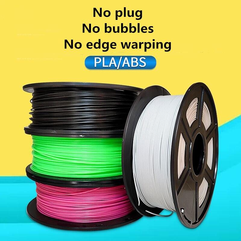3D Printer PLA Filament 1.75mm1KG  Filament Dimensional Accuracy +/-0.02mm 343M 2.2LBS 3D Printing Materia resina best sellers