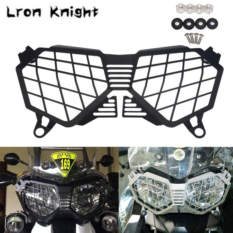 Protector de faro para Triumph Tiger 800 Tiger800 2010-2017 Explorer 1200 2012-2017, accesorios para motocicleta, cubierta protectora para parrilla
