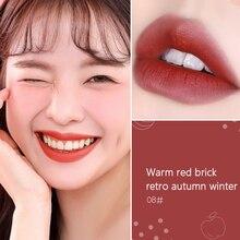 Haute couleur rendu Air lèvre glaçure velours mat délicat lisse brillant à lèvres pas facile à décolorer longue durée rouge à lèvres maquillage TSLM1