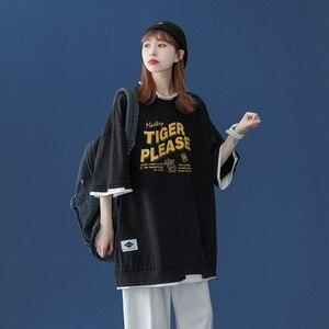 WWKK Basic Fashion T Shirt Men Women Summer New Oversized Anime Print Tees Colorful Casual Loose Tshirt Korean O Neck Tops