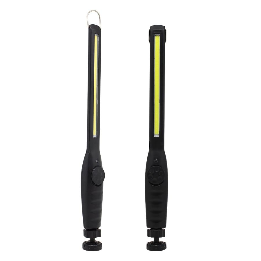 Lámpara de trabajo LED Barra de tira de emergencia USB recargable Xtra Portable brillante luz de fotagaphy Eyeshield COB luz de trabajo con gancho