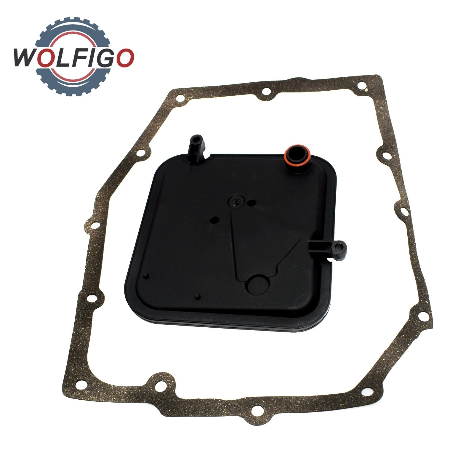WOLFIGO Auto Trans uszczelka filtra dla Jeep Liberty Dodge Dakota ładowarka Magnum Nitro RAM 1500 CHRYSLER 300 2003- 52852913AA