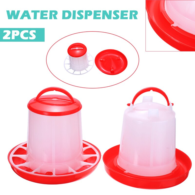 Chicken Drinker 1.5L Chick Drinker Cups Pheasant 1L Feeders Drinking Fountain Poultry Farming Feeding Equipment
