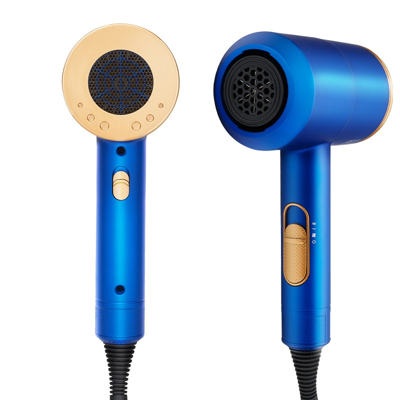 Hair Dryer Blue 2000W Professional High Power Styling Tools Solon Blow Dryer Hot and Cold Wind hair dryer volumizer hammer dryer