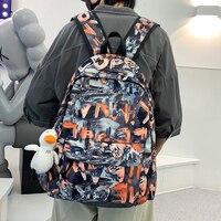 Мужской вместительный дорожный рюкзак HOCODO, школьный ранец для мальчиков-подростков, повседневная сумка для студентов колледжа