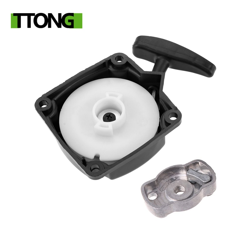 chainsaw spare parts recoil pull starter assembly for h136 137 142 Recoil Pull Start Universal Recoil Pull Starter for Brush Cutter Lawn Trimmer Parts Spare Parts Garden Tools Lawn Mower Parts