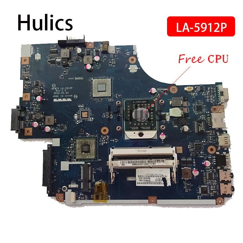 Hulics الأصلي NEW75 LA-5912P MBNA102001 اللوحة الأم للكمبيوتر المحمول لشركة أيسر أسباير 5551 5551G اللوحة الرئيسية