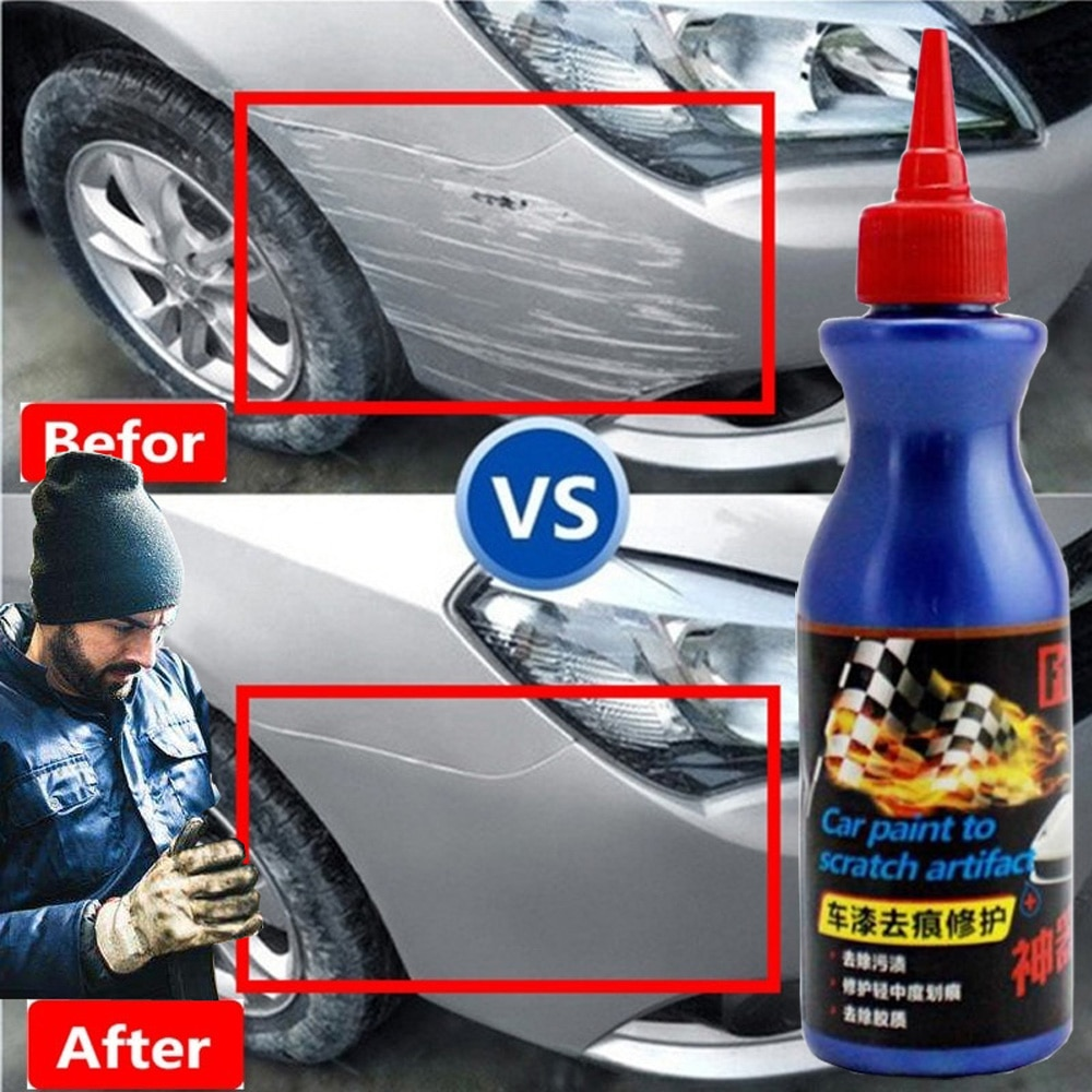 Автомобильная краска удаление царапин профессиональный ремонт жидкость воском Универсальная автомобильная краска уход за вмятинами