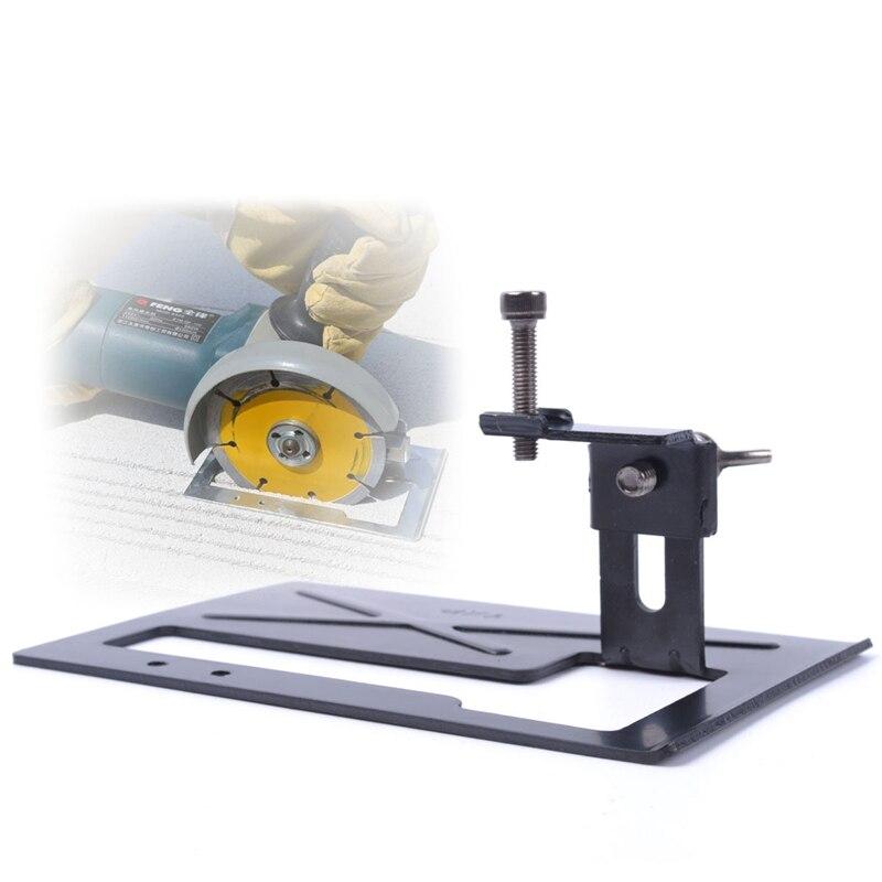 Adjustable Angle Grinder Holder Tool Cutting Machine Cutter Metal Bracket Base enlarge