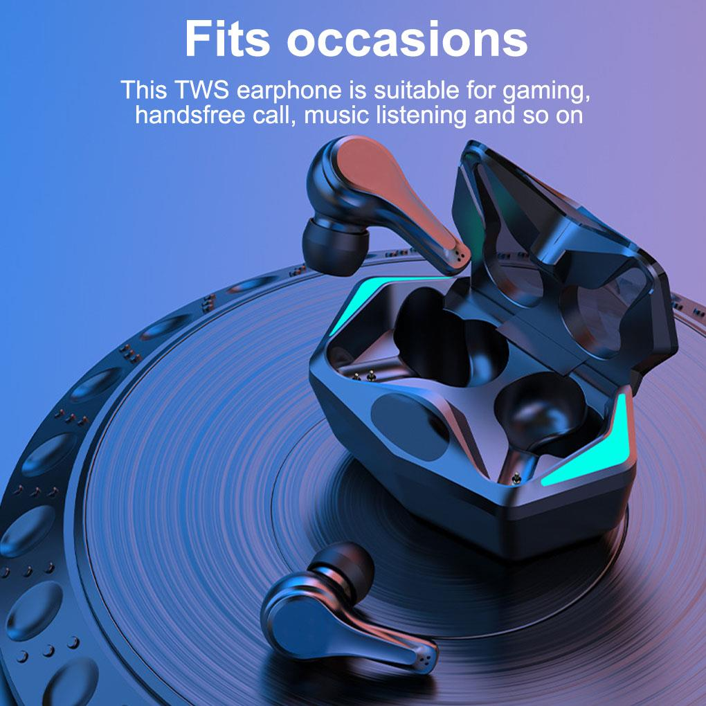 Promo with Microphones S500 New Wireless Headphones TWS Bluetooth 5.2 Earphones Sports Waterproof Headsets Gaming