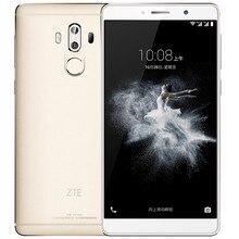 """الأسهم الأصلي ZTE Axon 7 ماكس 4G LTE هاتف ذكي أندرويد 6.0 Snapdragon 625 6.0 """"IPS 1920X1080 4G RAM 64G ROM 13.0MP بصمة"""