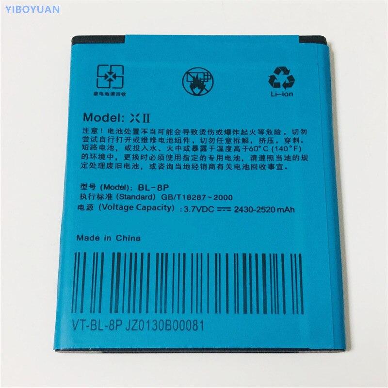 3.7V 2520mAh For VOTO X2 Ziyun V5 аккумулятор Batterie Bateria Batteria batterij Batteri Battery